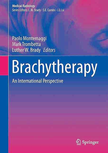 Portada del libro 9783319267890 Brachytherapy. An International Perspective