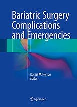 Portada del libro 9783319271125 Bariatric Surgery Complications and Emergencies