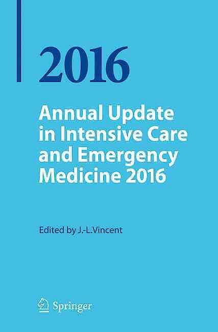Portada del libro 9783319273488 Annual Update in Intensive Care and Emergency Medicine 2016