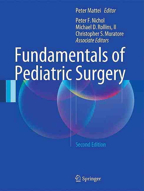 Portada del libro 9783319274416 Fundamentals of Pediatric Surgery