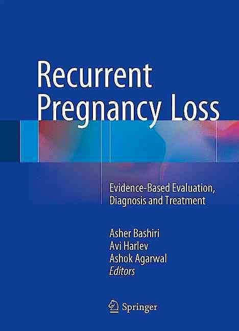 Portada del libro 9783319274508 Recurrent Pregnancy Loss. Evidence-Based Evaluation, Diagnosis and Treatment