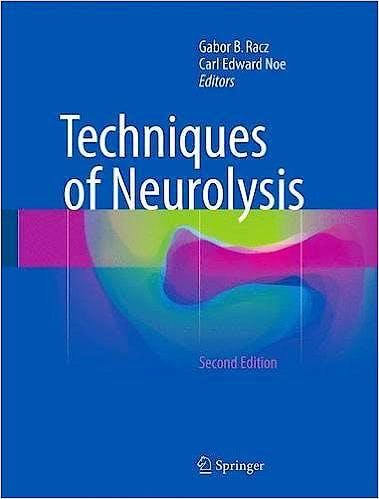 Portada del libro 9783319276052 Techniques of Neurolysis