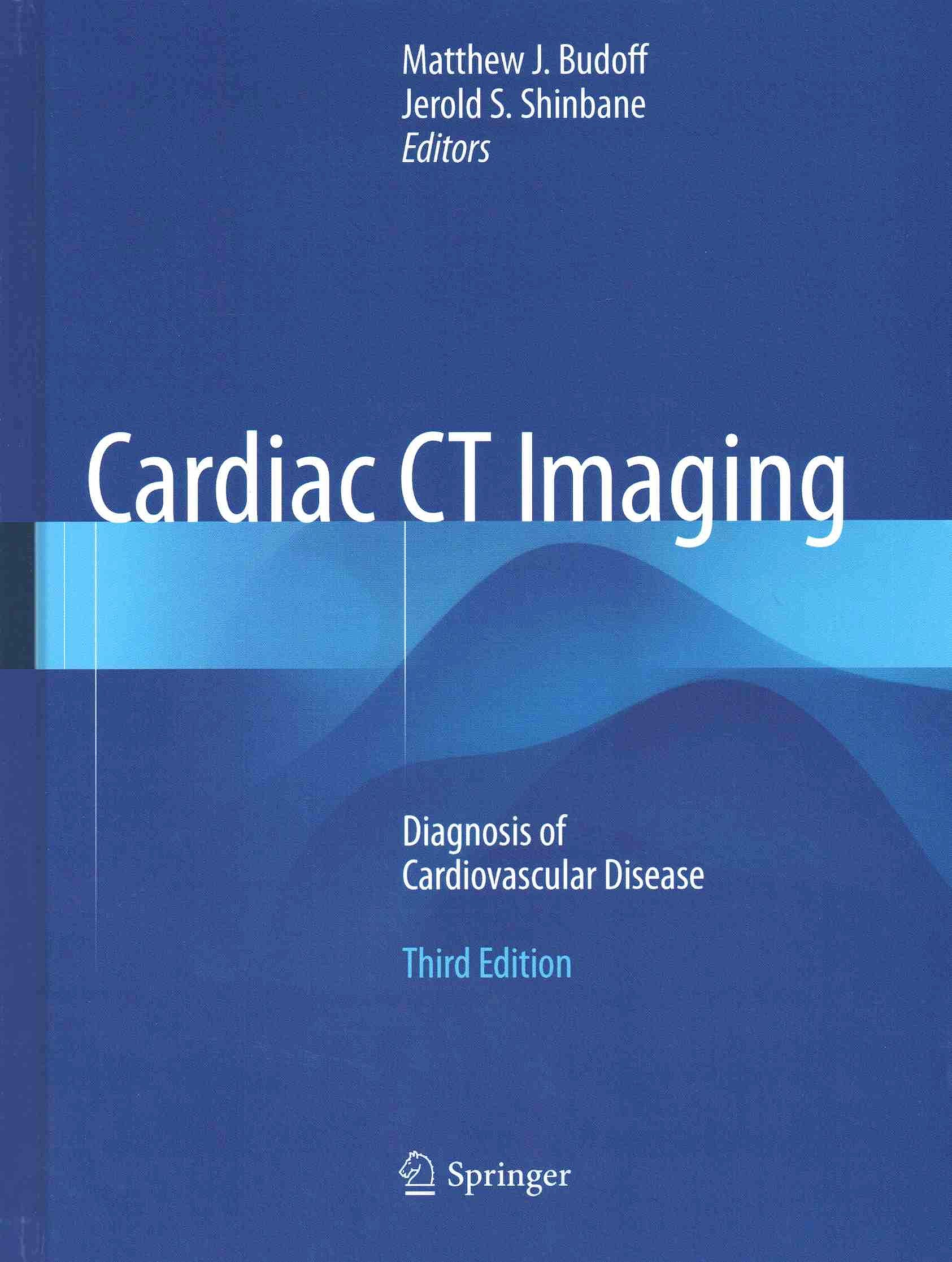 Portada del libro 9783319282176 Cardiac CT Imaging. Diagnosis of Cardiovascular Disease