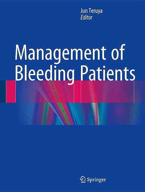 Portada del libro 9783319307244 Management of Bleeding Patients