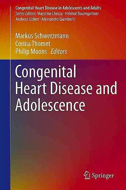 Portada del libro 9783319311371 Congenital Heart Disease and Adolescence