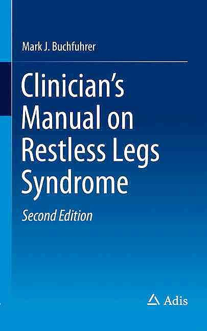 Portada del libro 9783319313726 Clinician's Manual on Restless Legs Syndrome