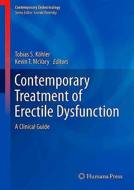 Portada del libro 9783319315850 Contemporary Treatment of Erectile Dysfunction. A Clinical Guide (Contemporary Endocrinology)