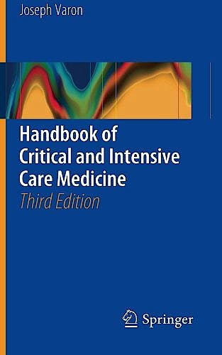 Portada del libro 9783319316031 Handbook of Critical and Intensive Care Medicine