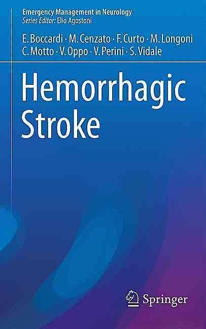Portada del libro 9783319321295 Hemorrhagic Stroke (Emergency Management in Neurology)