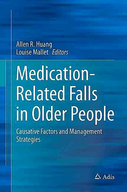 Portada del libro 9783319323022 Medication-Related Falls in Older People. Causative Factors and Management Strategies