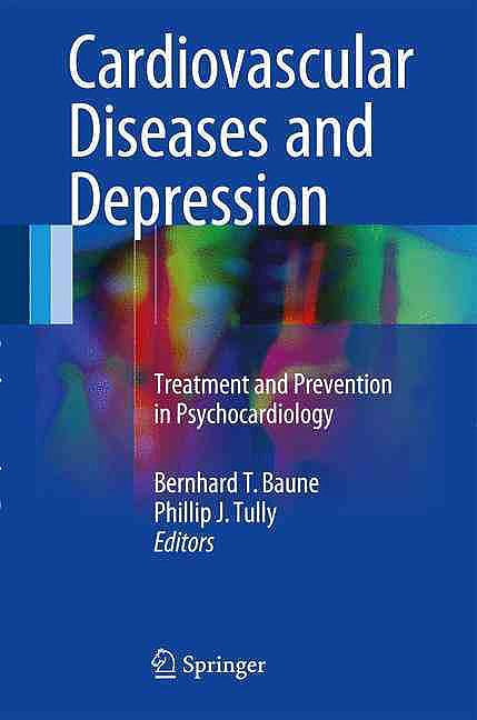 Portada del libro 9783319324784 Cardiovascular Diseases and Depression. Treatment and Prevention in Psychocardiology