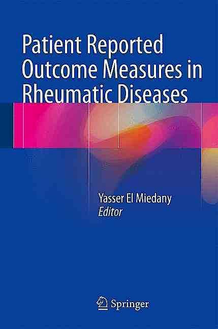 Portada del libro 9783319328492 Patient Reported Outcome Measures in Rheumatic Diseases