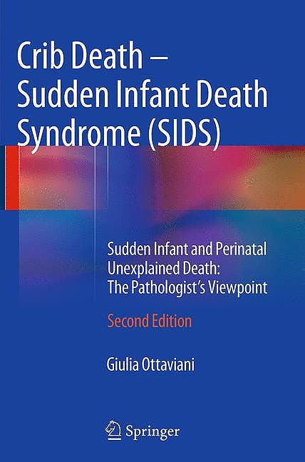 Portada del libro 9783319330846 Crib Death - Sudden Infant Death Syndrome (SIDS). Sudden Infant and Perinatal Unexplained Death: the Pathologist's Viewpoint (Softcover)