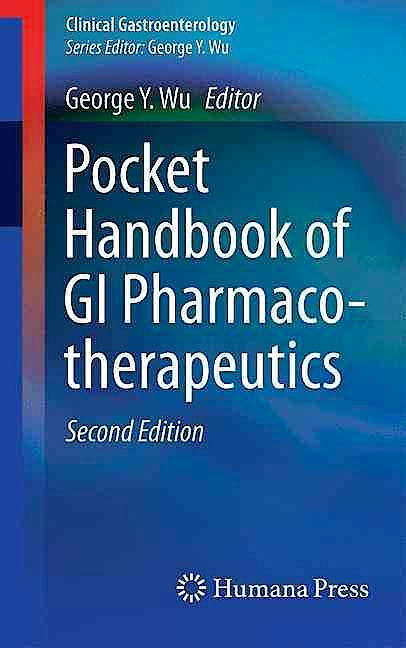 Portada del libro 9783319333151 Pocket Handbook of Gi Pharmaco-Therapeutics (Clinical Gastroenterology)