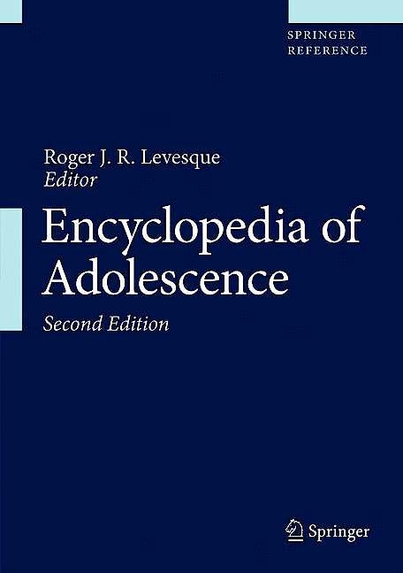 Portada del libro 9783319333908 Encyclopedia of Adolescence, 5 Vols. (Print + eBook)
