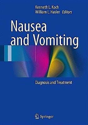 Portada del libro 9783319340746 Nausea and Vomiting. Diagnosis and Treatment