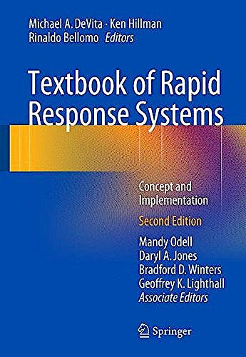 Portada del libro 9783319393896 Textbook of Rapid Response Systems. Concept and Implementation