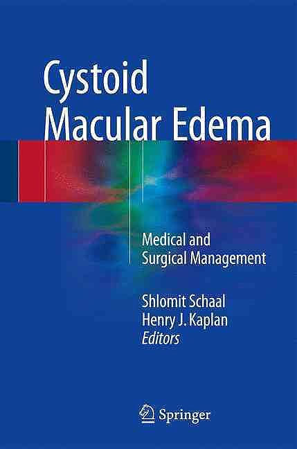 Portada del libro 9783319397641 Cystoid Macular Edema. Medical and Surgical Management