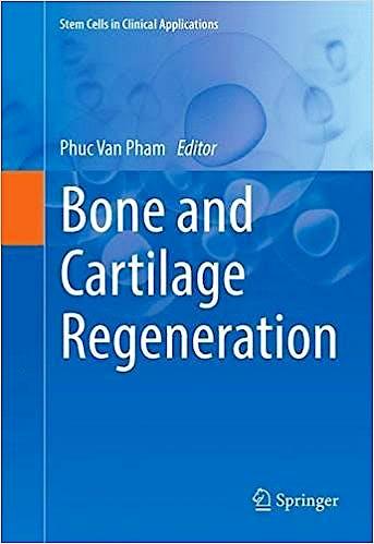 Portada del libro 9783319401430 Bone and Cartilage Regeneration (Stem Cells in Clinical Applications)