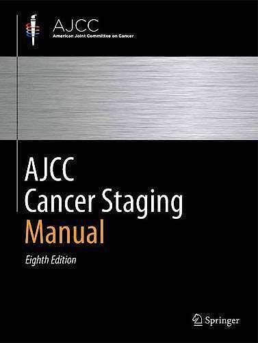 Portada del libro 9783319406176 AJCC Cancer Staging Manual