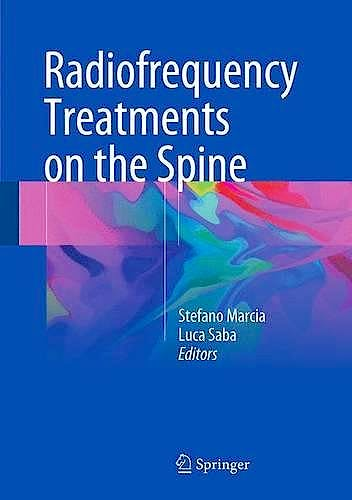 Portada del libro 9783319414614 Radiofrequency Treatments on the Spine