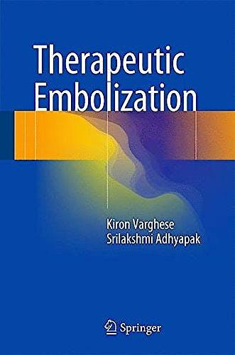 Portada del libro 9783319424927 Therapeutic Embolization