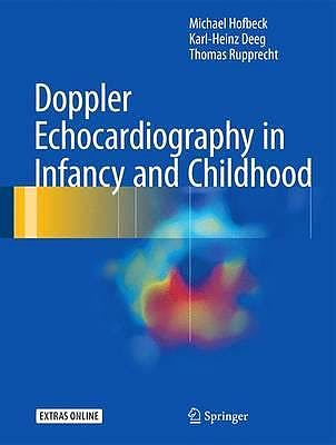 Portada del libro 9783319429175 Doppler Echocardiography in Infancy and Childhood + Extras Online