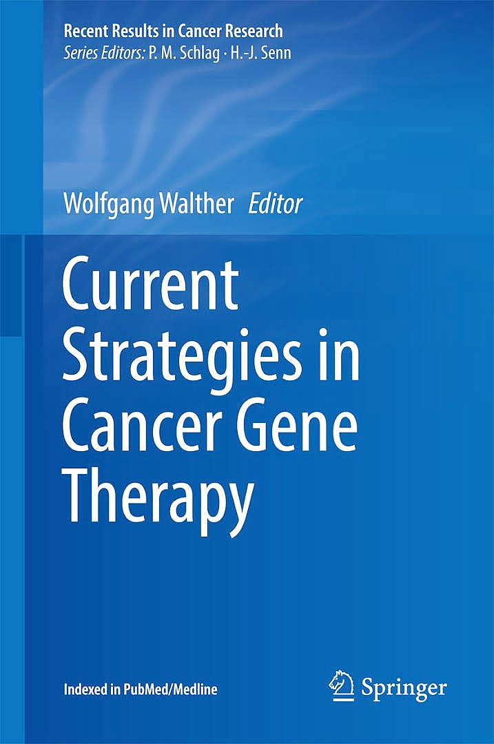 Portada del libro 9783319429328 Current Strategies in Cancer Gene Therapy