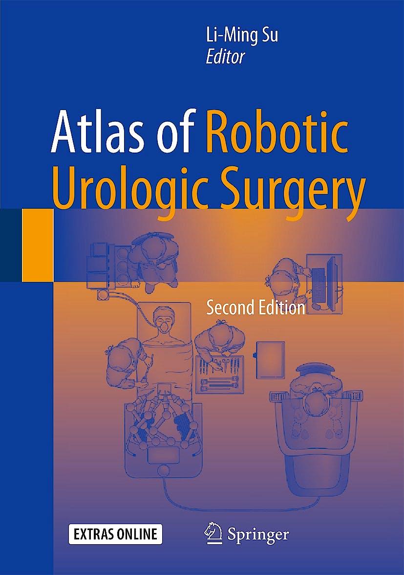 Portada del libro 9783319450582 Atlas of Robotic Urologic Surgery
