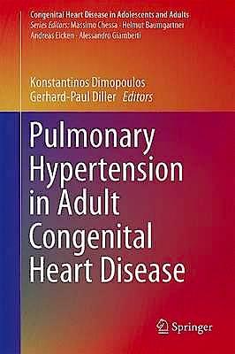Portada del libro 9783319460260 Pulmonary Hypertension in Adult Congenital Heart Disease