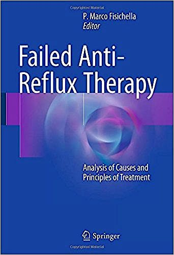 Portada del libro 9783319468846 Failed Anti-Reflux Therapy. Analysis of Causes and Principles of Treatment