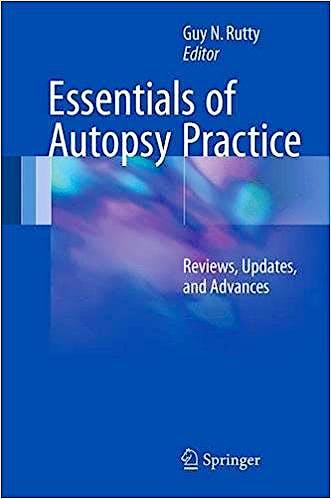 Portada del libro 9783319469966 Essentials of Autopsy Practice. Reviews, Updates, and Advances