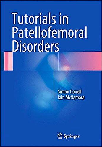 Portada del libro 9783319473994 Tutorials in Patellofemoral Disorders
