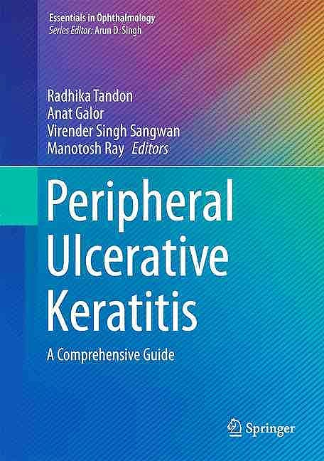 Portada del libro 9783319504025 Peripheral Ulcerative Keratitis. a Comprehensive Guide (Essentials in Ophthalmology)