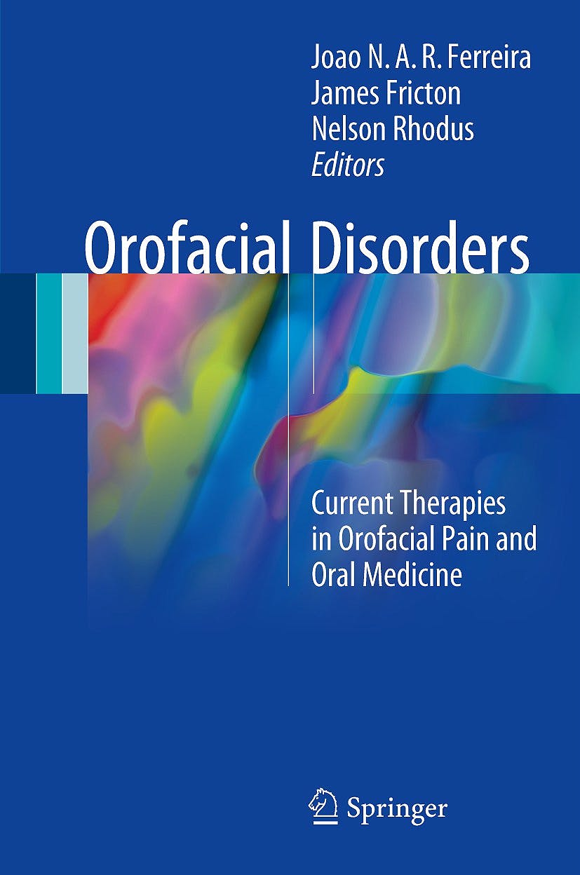Portada del libro 9783319515076 Orofacial Disorders. Current Therapies in Orofacial Pain and Oral Medicine