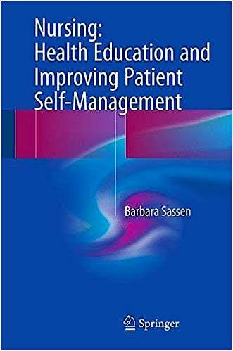 Portada del libro 9783319517681 Nursing: Health Education and Improving Patient Self-Management