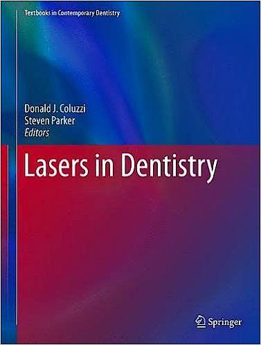 Portada del libro 9783319519432 Lasers in Dentistry (Textbook in Contemporary Dentistry)