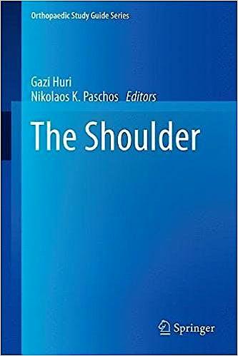 Portada del libro 9783319519777 The Shoulder (Orthopaedic Study Guide Series)
