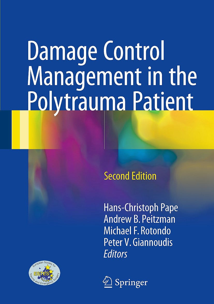 Portada del libro 9783319524276 Damage Control Management in the Polytrauma Patient