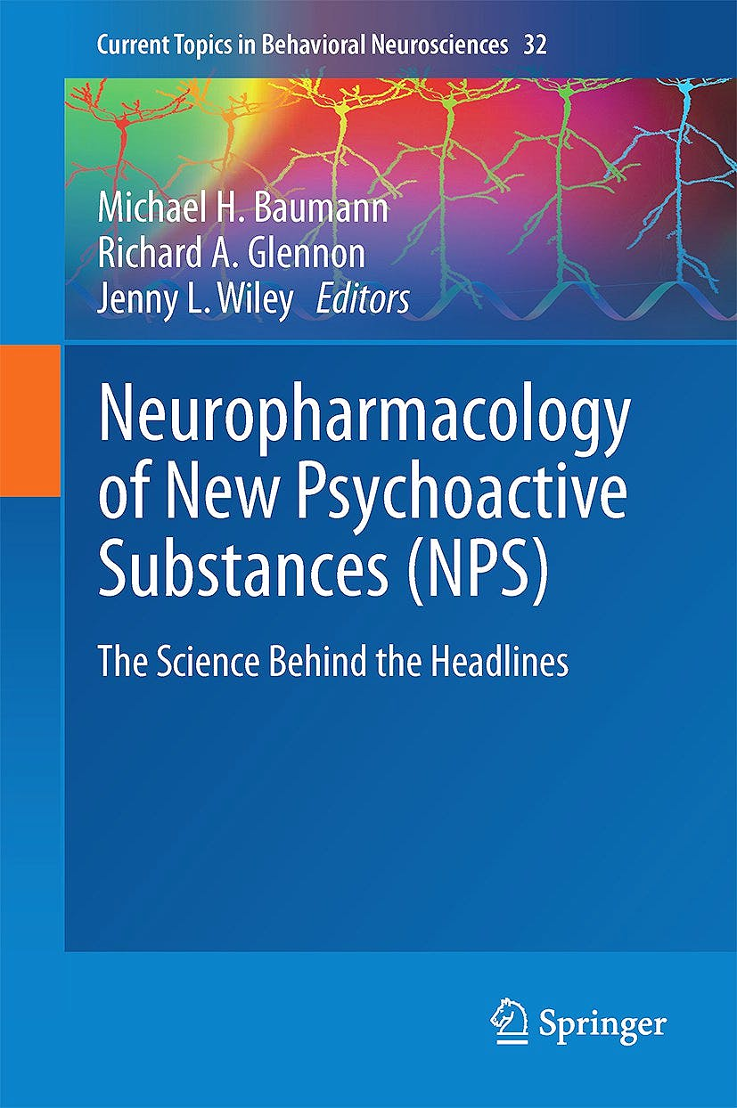 Portada del libro 9783319524429 Neuropharmacology of New Psychoactive Substances (Nps). the Science behind the Headlines