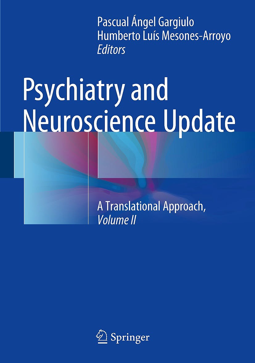 Portada del libro 9783319531250 Psychiatry and Neuroscience Update Vol. 2: A Translational Approach