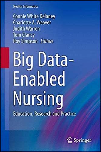 Portada del libro 9783319532998 Big Data-Enabled Nursing. Education, Research and Practice (Health Informatics)