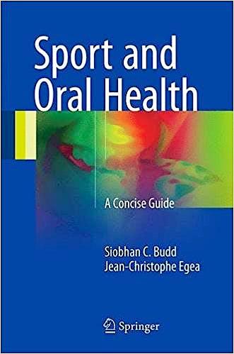 Portada del libro 9783319534220 Sport and Oral Health. A Concise Guide