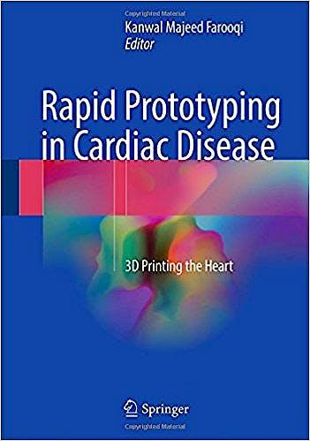 Portada del libro 9783319535227 Rapid Prototyping in Cardiac Disease. 3D Printing the Heart