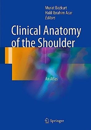 Portada del libro 9783319539157 Clinical Anatomy of the Shoulder. An Atlas