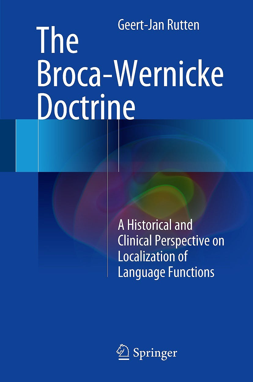 Portada del libro 9783319546322 The Broca-Wernicke Doctrine. A Historical and Clinical Perspective on Localization of Language Functions