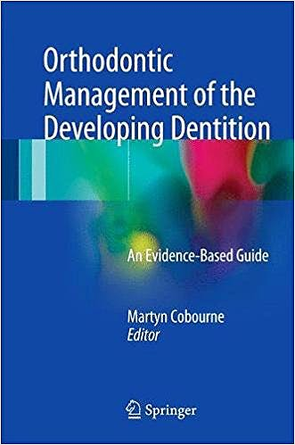 Portada del libro 9783319546353 Orthodontic Management of the Developing Dentition. An Evidence-Based Guide