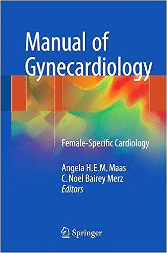 Portada del libro 9783319549590 Manual of Gynecardiology. Female-Specific Cardiology
