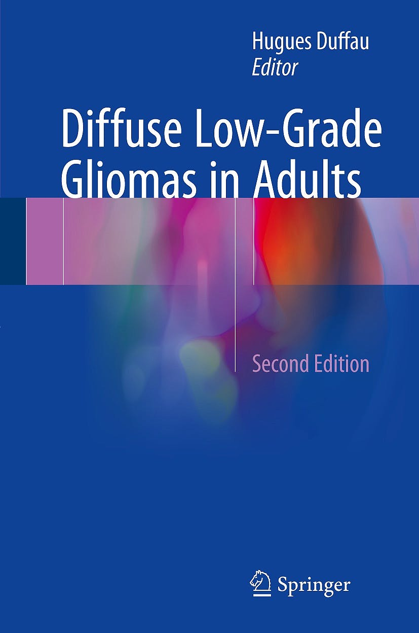 Portada del libro 9783319554648 Diffuse Low-Grade Gliomas in Adults