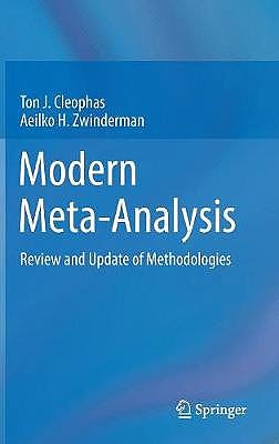 Portada del libro 9783319558943 Modern Meta-Analysis. Review and Update of Methodologies